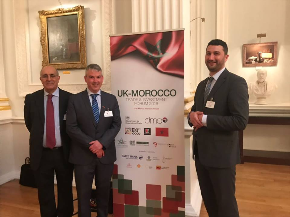 sist attends uk morocco trade  u0026 investment forum 2018